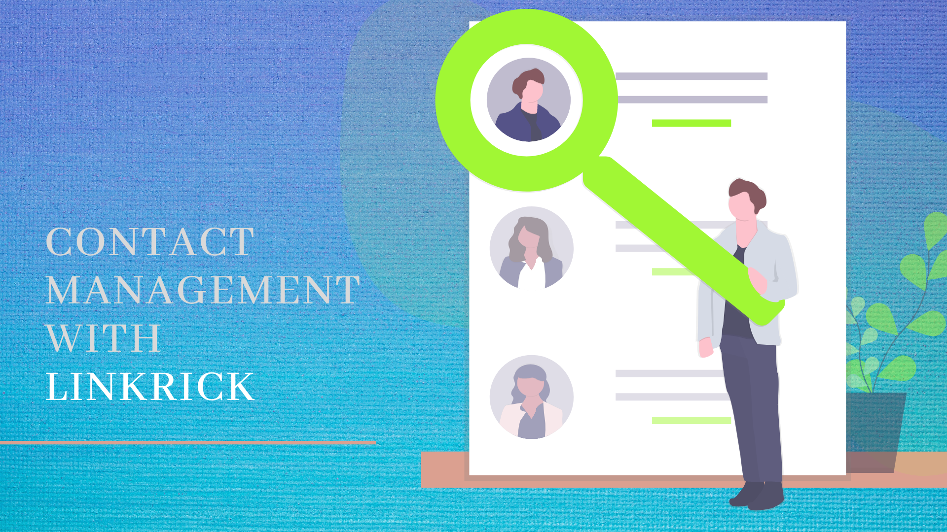 contact-management-with-linkrick